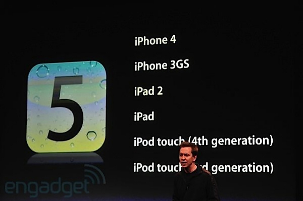 Премьера iphone 4s ios 5 и новых ipod