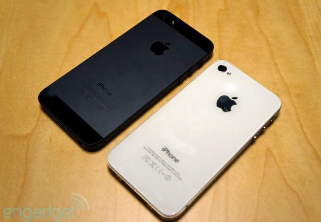 Айфон 4с и 5 фото